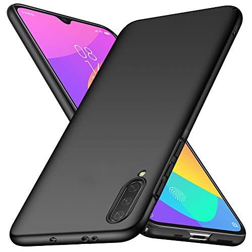 TOPACE Hülle für Xiaomi Mi A3 Ultradünne Leichte Matte Handyhülle Einfache Stoßfeste Kratzfeste Schutzhülle kompatibel mit Xiaomi Mi A3 (Schwarz)