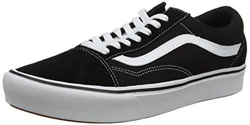 Vans UA Comfycush Old S, 5.5, Medium, Sneaker Unisex-Adulto, Multicolore ((Classic) Black Vnvne), 38 EU