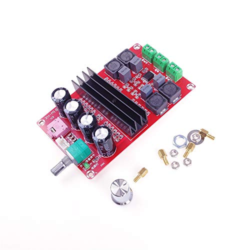 ANGEEK TPA3116D2 - Amplificador de audio digital (2 unidades, 100 W, 12 V y 24 V) para Arduino
