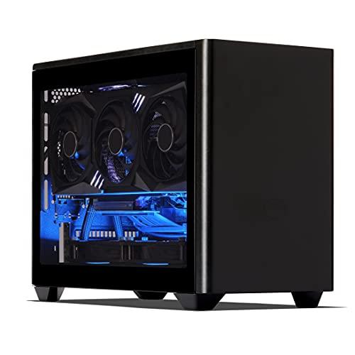 Sedatech Mini-PC Evolution Watercooling AMD Ryzen 9 5900X 12x 3.7Ghz, Geforce RTX 3090 24Gb, 64 Gb RAM DDR4, 500Gb SSD NVMe M.2 PCIe, 3Tb HDD, USB 3.1, Wifi, Bluetooth. Computer Desktop, Win 10