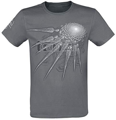 Tool Phurba Männer T-Shirt grau XL 100% Baumwolle Band-Merch, Bands