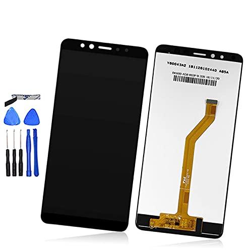 Accesorios Kits de 6 pulgadas para Lenovo K5 Pro pantalla LCD+táctil digitalizador Asamblea de reemplazo de teléfono de repuesto de pantalla LCD (color blanco) Reemplazo (Negro)