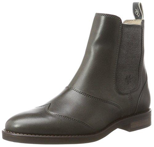 Marc O'Polo Damen Flat Heel 70814225002124 Chelsea Boots, Grau (Grey), 39 EU