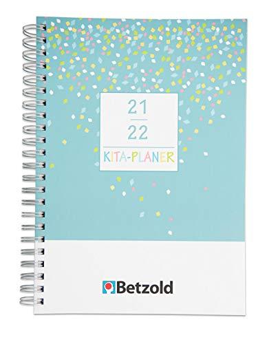 Betzold 758673 - Design Kita-Planer 2021/2022 Ringbuch DIN A4 Plus Erzieherinnen
