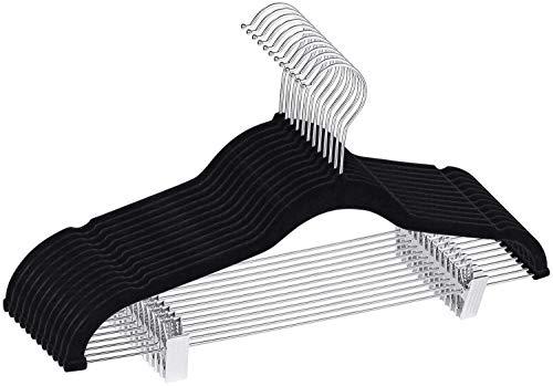 LEEPWEI ズボンハンガー スカート 強力クリップ 頑丈 洗濯 物干し 多機能 衣類ハンガー 省スペース 跡がつかない 14本セット
