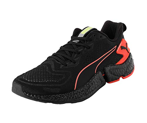 PUMA Speed Orbiter Zapatillas de Running para Hombre,Negro ( Puma Black-Nrgy Red-Yellow Alert ) , 43 EU