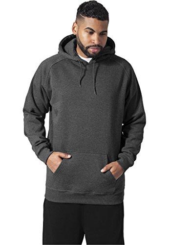 Urban Classics Tall Sweatshirt Capuche, Gris (Charbon 00091), Large Homme