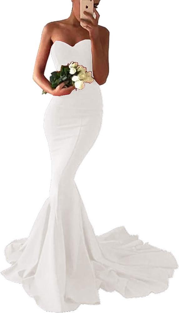 割引も実施中 SDRESS 在庫限り Women's Mermaid Off Shoulder Dres Spandex Sweetheart Prom