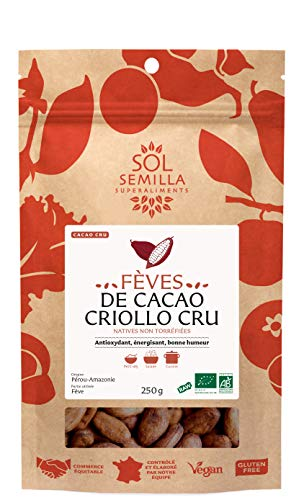 Sol Semilla Cacao Cru Fèves 250 g