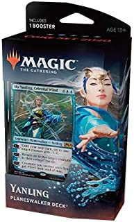 Magic The Gathering: MTG: Core Set 2020 Planeswalker Deck - Yanling w/Booster Pack (Blue)