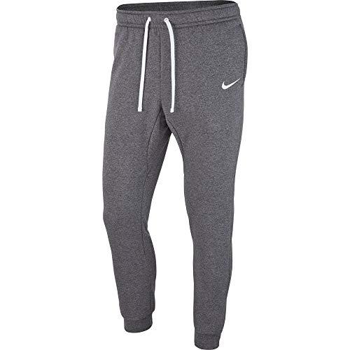 Nike Jungen Sport Trousers Y CFD Pant FLC TM Club19, Charcoal Heathr/White/M, AJ1549, Charcoal Heathr/White/(White)