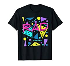 This Retro Totally Rad T-Shirt Makes an Awesome Gift or Present Idea For Everybody Who Love 80s and 90s! This Funny Tee Also Makes an Awesome Holiday, Christmas or Birthday Present For Men, Women, Boys Girls! Lightweight, Classic fit, Double-needle s...