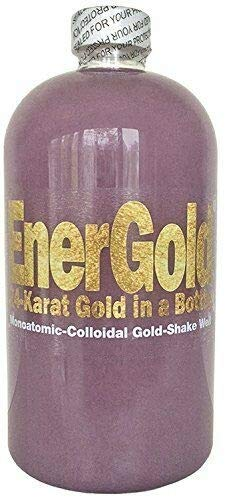 EnerGold® World's ONLY Pure-Gold-Based ORMUS Deep-Purple Manna Monoatomic-Colloidal Gold - with Platinum, Silver, Copper