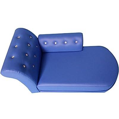 Da Jia Inc Luxury PU Leather Rhinestone Puppy Dog Sofa Bed by Da Jia Inc