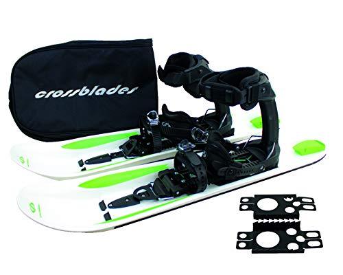 Crossblades Schneeschuhe Softboot, Tourenski System zum Schneeschuh-Wandern inkl. Wendeplatte, Tasche und Harscheisen