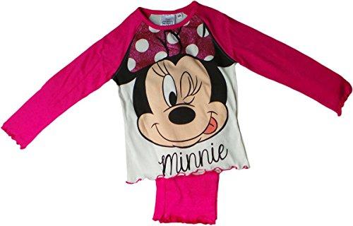 Disney Minnie Maus Schlafanzug - Frech wie Minnie - Pink/Mehrfarbig