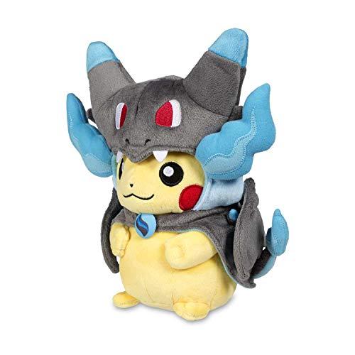 Pokémon Center: Mega Charizard X Costume Pikachu Poké Plush, 10 Inch