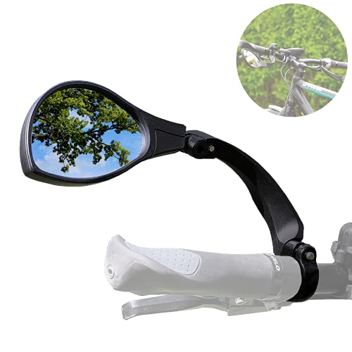 Smart-Planet Espejo retrovisor izquierdo para bicicleta y manillar de bicicleta eléctrica, universal,...