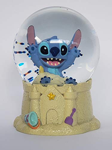 Play by Play Plush Soft Stitch Disney with Sound 30cm - Angel Kissen - Stitch Schneekugel (Stitch Schneekugel)