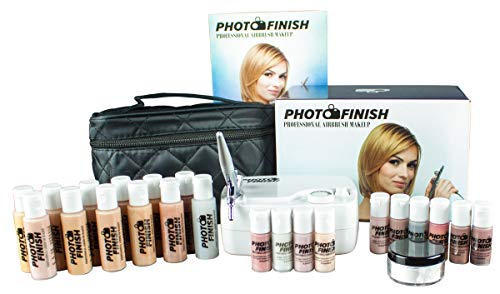 Photo Finish Professional Airbrush Cosmetic Makeup Deluxe System Kit...