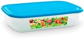 عبوة بلاستيك فورت لحفظ الطعام سعة 1800 مل - 11301 (متعددة الألوان)