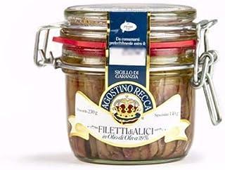 Anchovie Fillets in Olive Oil (mason jar) 230g(8.1oz)