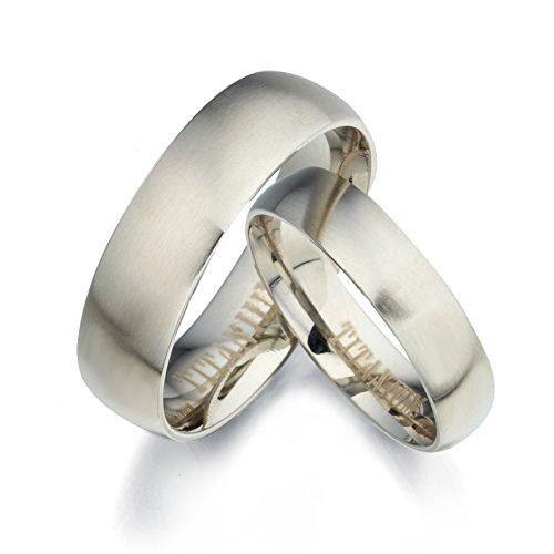 Gemini su y su mate de juego de anillos de boda de titanio GM091hombres tamaño: 9,5Regalos del día de San Valentín