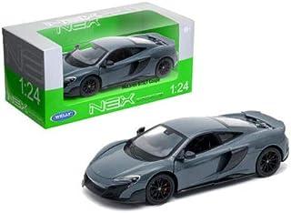 Welly Die-Cast Toys Car 1: 24 W/B - McLaren 675Lt Coupe (Grey) 24089W-GRY