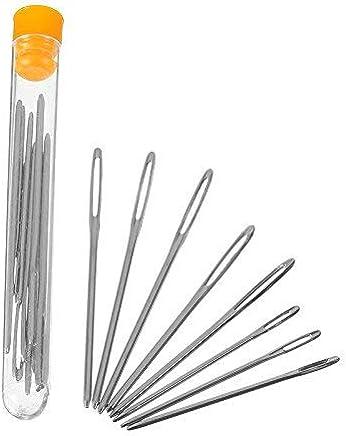 ago per legare e lisciare silvery Set di 6 pezzi di alta qualit/à in paracord FID in acciaio INOX paracord BAODANH