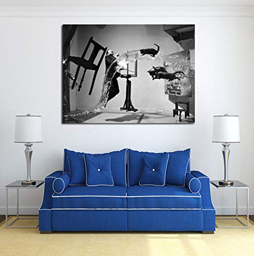 Famoso pintor de obras de arte Uli Hesse es Pinterest lienzo pintura impresión sala de estar decoración del hogar moderno arte de la pared pintura al óleo póster imágenes 50 * 70 cm sin marco