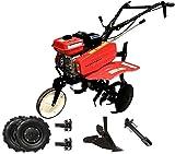 SAKAWA Motoazada Motocultor 7CV con Accesorios Ruedas 500X10