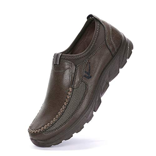 Clearance Sale [EU39-EU46] ODRD Schuhe Herren Stiefel Sneakers Herbst Herrenschuhe Atmungsaktiv Rutschfeste Sport Dicke Untere Freizeitschuhe Wanderstiefel Combat Hallenschuhe Sportschuhe