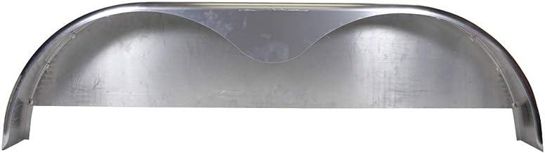 RecPro Steel Trailer Fenders Tandem Axle 64 x 10 x 16 1 Fender, with Rubberized Undercoating Spray 14 Gauge Steel Teardrop Trailer Fenders