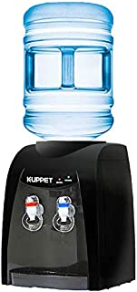 KUPPET Top Loding Electrical Cooling Water Dispenser,3 or 5 Gallon Bottle,Hot& Cold Water,Anti-Scalding Design And Storage...