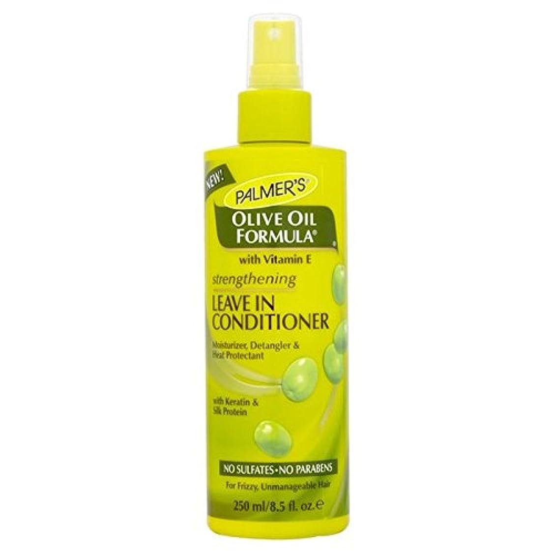 ファンネルウェブスパイダーオーナー皮リーブインコンディショナー250を強化パーマーのオリーブオイル式 x4 - Palmer's Olive Oil Formula Strengthening Leave-in Conditioner 250ml (Pack of 4) [並行輸入品]