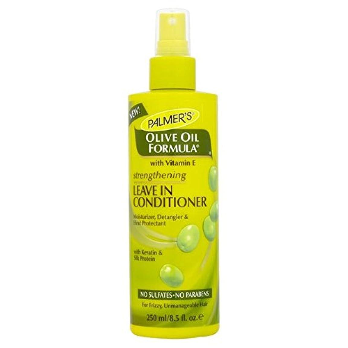 祖先橋アンケートリーブインコンディショナー250を強化パーマーのオリーブオイル式 x4 - Palmer's Olive Oil Formula Strengthening Leave-in Conditioner 250ml (Pack of 4) [並行輸入品]