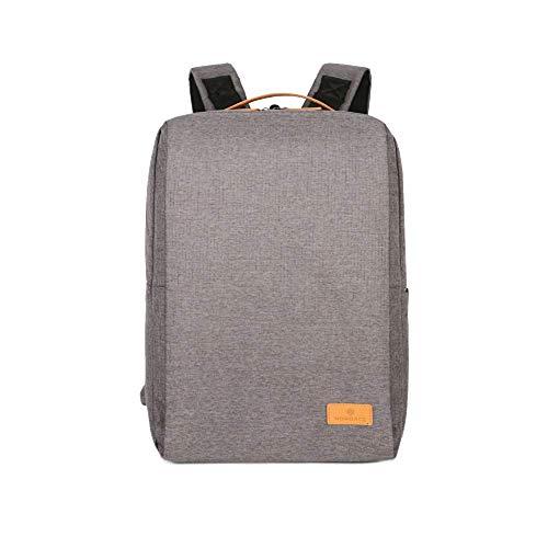 Nordace - Mochila inteligente Siena 19L USB, gris (Gris) - Siena