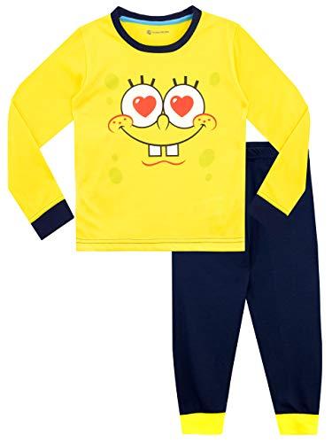 Spongebob Schwammkopf Mädchen Spongebob Squarepants Schlafanzug Gelb 128