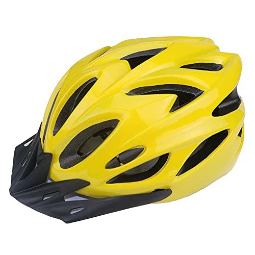 ZXCASD Fahrradhelm Herren Damen, Leichter MTB Helm, Erwachsene Einstellbarer Fahrrad Helm mit abnehmbarem Visier & Reflexstreifen für Fahrrad, Mountainbike, Downhill, Rennrad