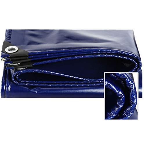 JLZS-Tarpaulin La Toile imperméable épaissie imperméabilisent la bâche de Protection de Camion d'Oxford de bâche de Protection de Toile de Pluie et de Pluie (Couleur : Bleu, Taille : 3 * 3m)