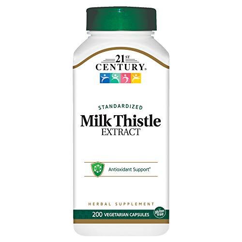 Price comparison product image 21st Century Milk Thistle Extract Veg Capsules,  200 Count