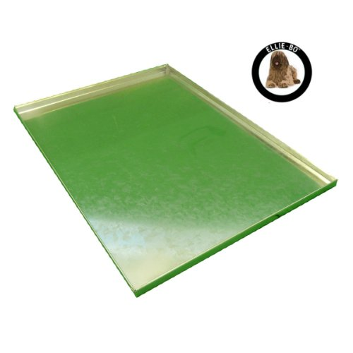 Ellie-Bo Replacement Metal Tray for Dog Cage Crate Extra Large 42-inch Silver