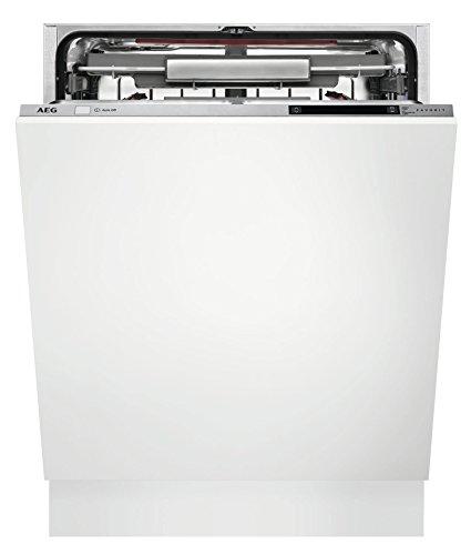 AEG FSK93700P Entièrement intégré 15places A+++ lave-vaisselle - Lave-vaisselles (Entièrement intégré, Taille maximum (60 cm), Acier inoxydable, LCD, froid, chaud, 15 places)