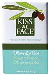 Kiss My Face Moisturizing Bar Soap for All Skin Types