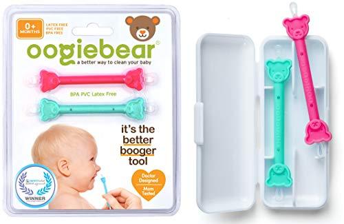 oogiebear Le Baby Safe nasal Booger et Ear Cleaner; Baby shower cadeau et Registre Essential morve Removal Tool