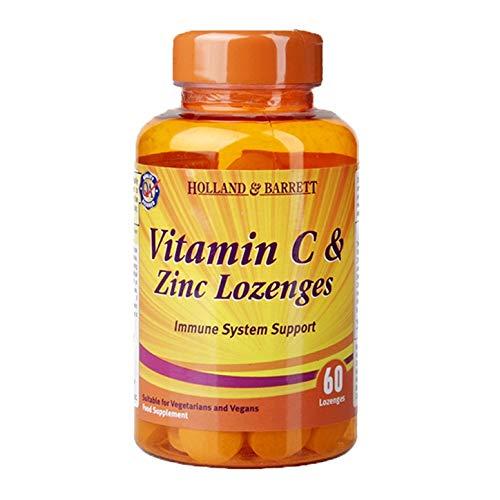 Holland & Barrett Vitamin C and Zinc, 60 Lozenges