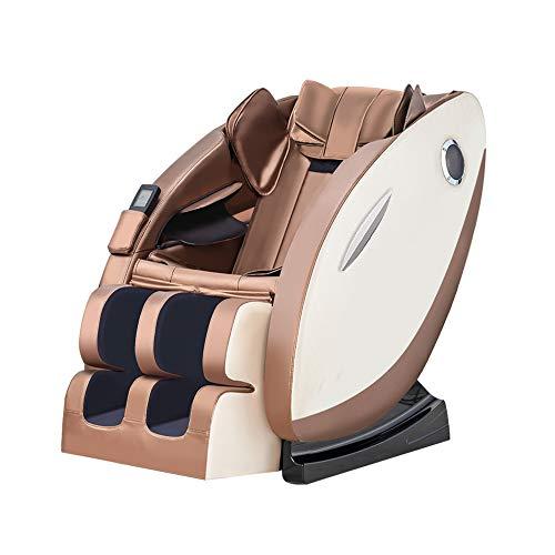 SDYBAMY 8D Elektrischer Massagestuhl, Platzsparender Zero Gravity Ruhesessel, Shiatsu-Massage, Für Den Ganzen Körper, Multifunktional Für Haushalt Und Gewerbe
