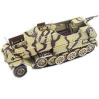 1/72戦車モデルドイツDb10ハーフトラックカー、軍用玩具およびギフト、5.1インチ× 2インチ