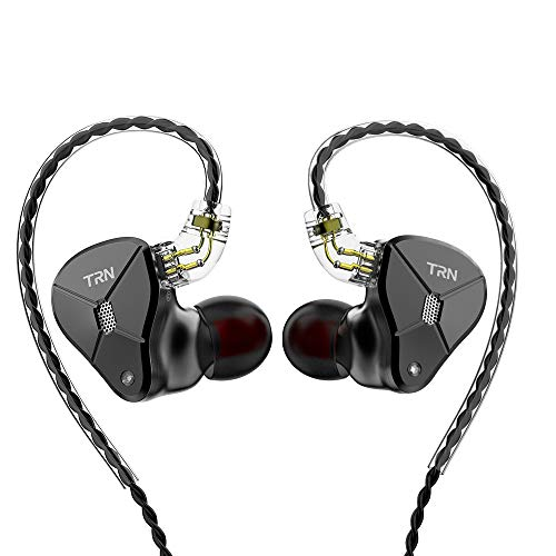 IEM in Ear Earphones Earbuds,Revonext QT2 Deep Heavy Bass HiFi Noise Isolating Earbuds Metal Headphones Headset with Dynamic Driver Balanced...