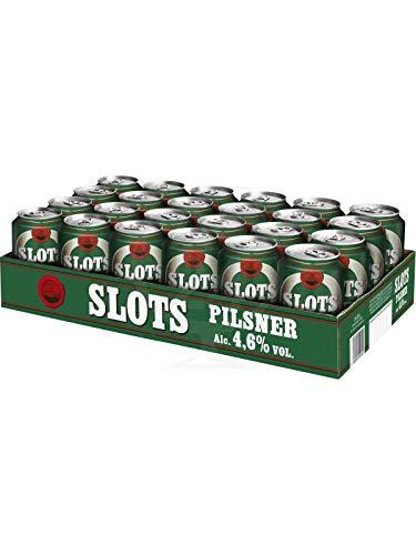 Slots Pilsner Pils 48 x 0,33 l Dosen Bier 4,6 % Beer Cerveza